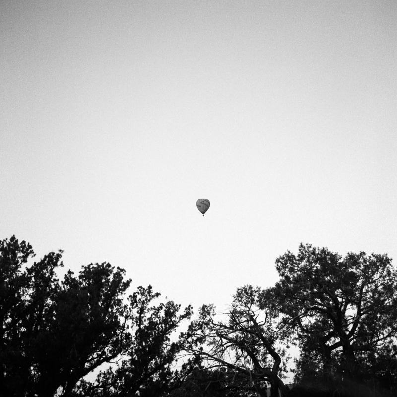 Hot Air Balloon, Sedona, December 2017