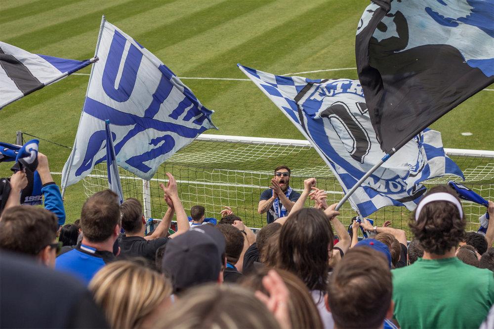 On a regardé un match de l'Impact avec des membres des Ultras  - Kéven Breton
