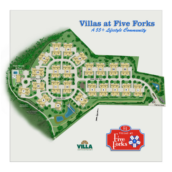 Villas at Five Forks -