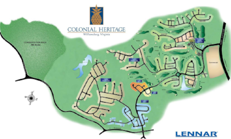 Colonial Heritage Map -