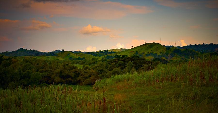 Dusk, Couva, Trinidad, 2007. Canon 10D.