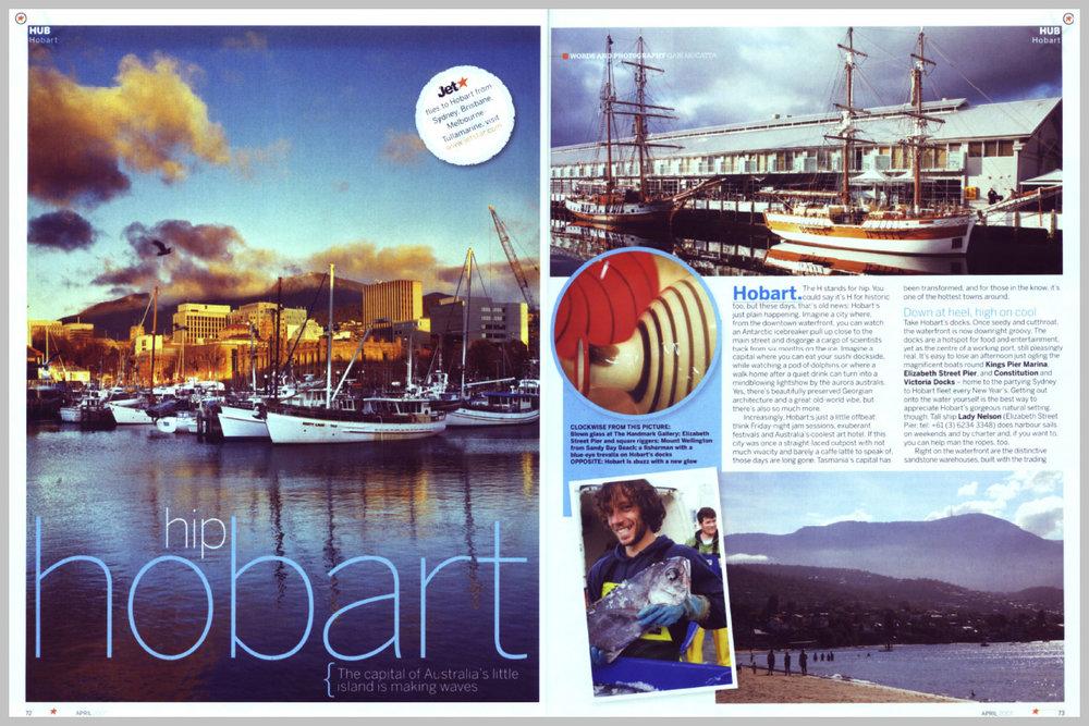 Jetstar Magazine – Hip Hobart