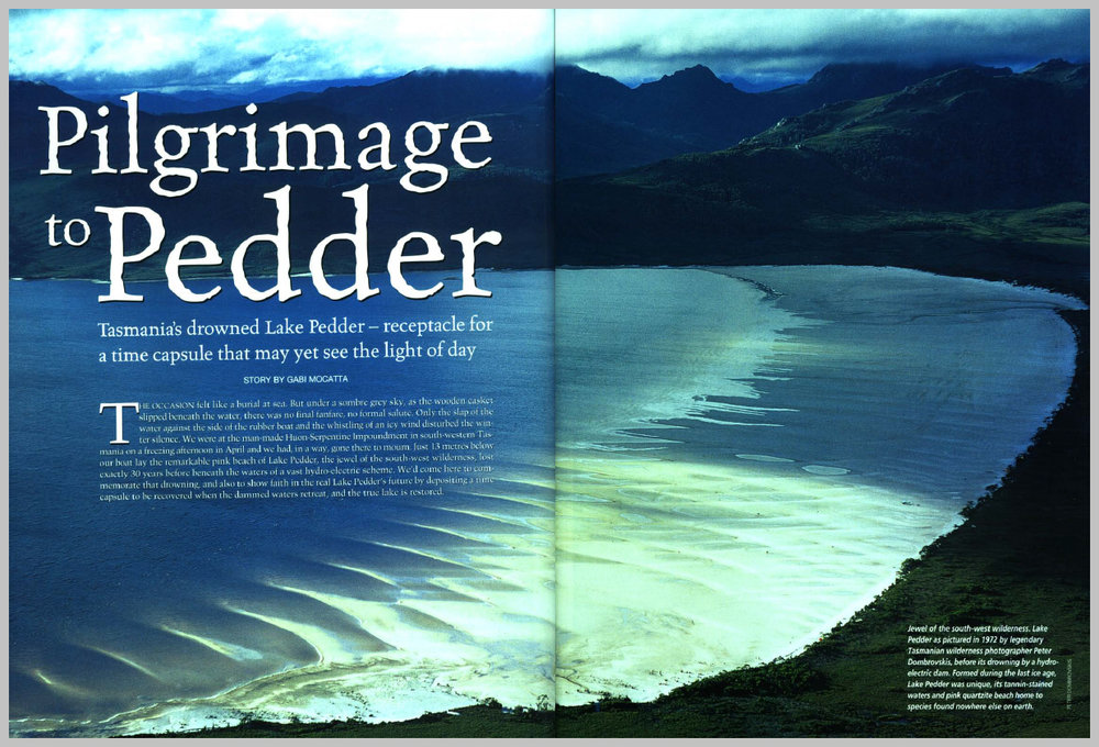 Australian Geographic — Lake Pedder