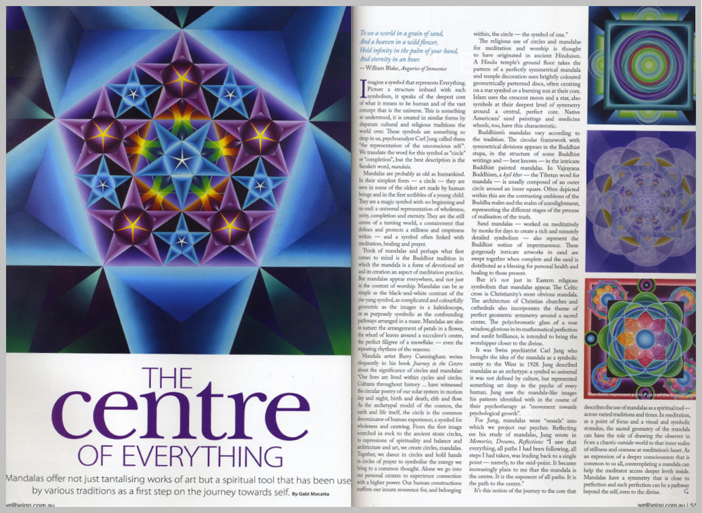Wellbeing Magazine — The Centre of Everything