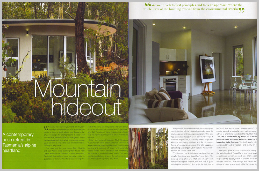 Sanctuary Magazine — Mountain Hideout