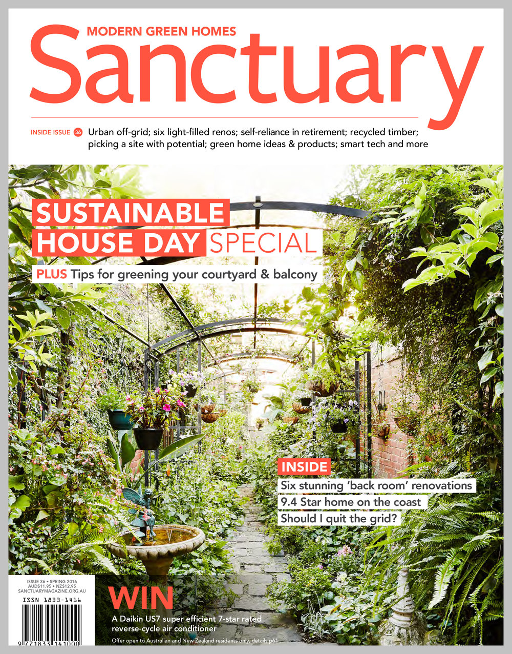 Sanctuary Magazine — Tassie Off-Grid