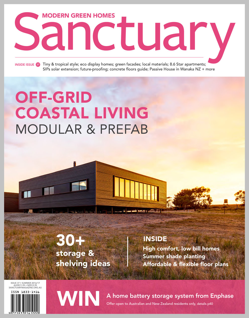 Sanctuary Magazine — Off the Shelf