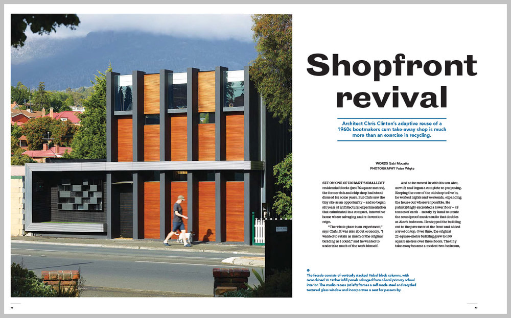 Sanctuary Magazine — Shopfront Revival