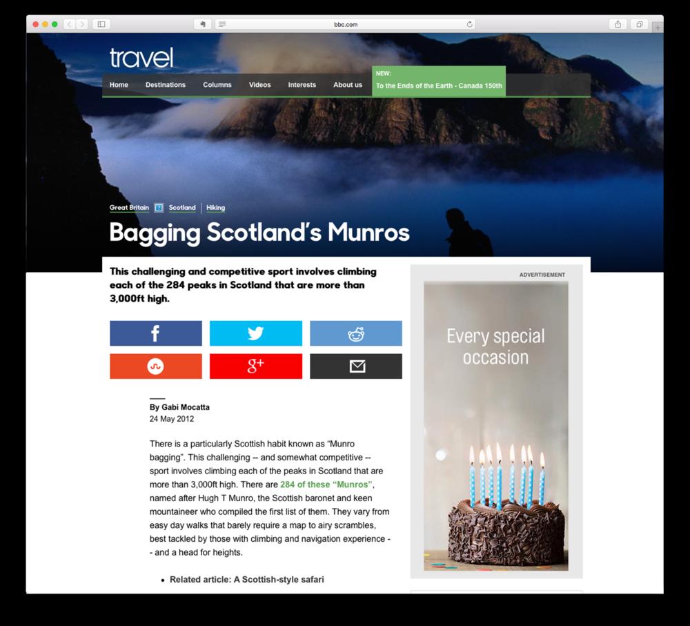 Bagging Scotland's Munros
