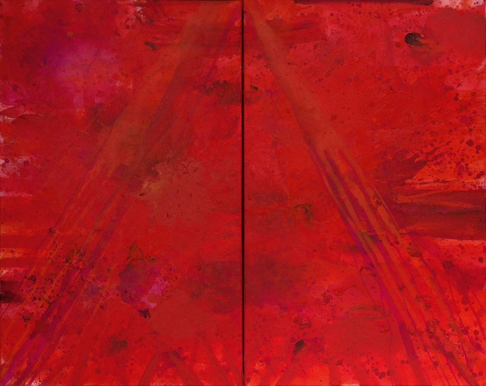 J. Steven Manolis - Redworld Glaze 2016, 48.60.02, 48x60in, acrylic on canvas.jpg