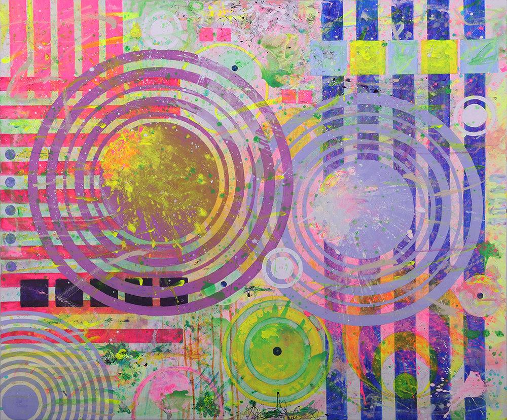 J. Steven Manolis, California Dreaming (Capistrano), 2017, Acrylic on canvas, 60 x 72 inches (152.4 x 182.88 cm), 2017.01