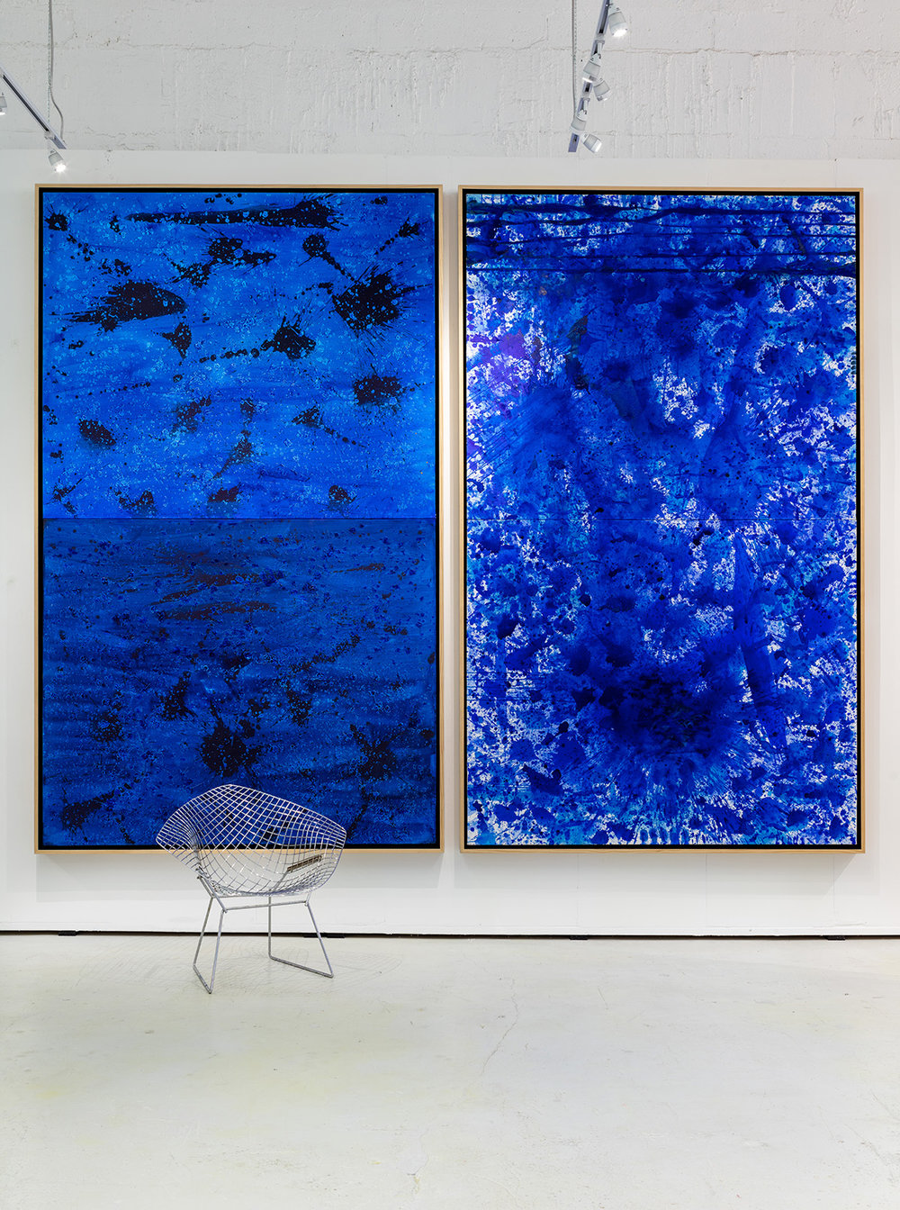 BlueLand Splash (Masculine), BlueLand Splash (Feminine), 2016 (left to right)