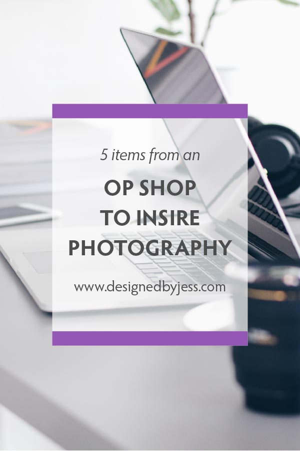 5 op shop items that can inspire your stock photography