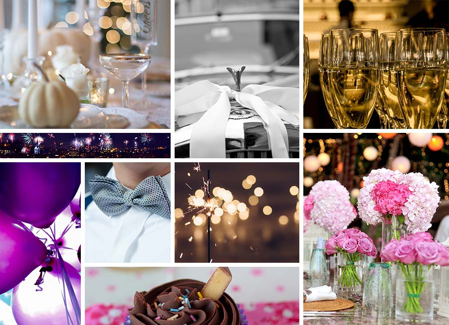 Mood Board for Brand Identity - Designed by Jess: Ties and Bow Events