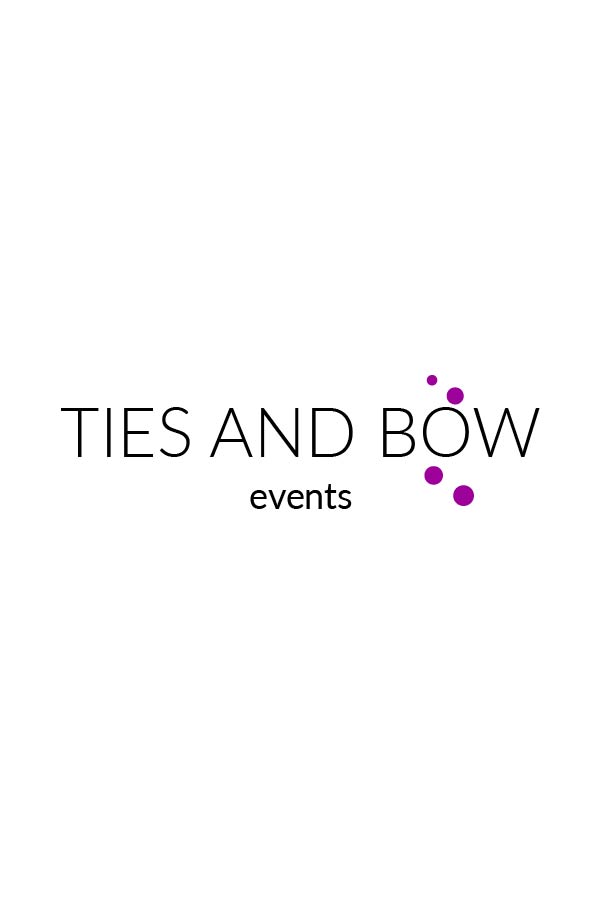 Minimal Logo Design - Designed by Jess - Ties and Bow Events