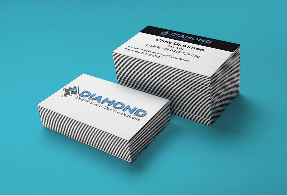 Diamond Electrical Business Card Mock Up Smaller image.jpg