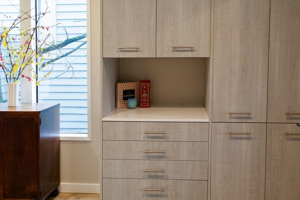 Cabinets -