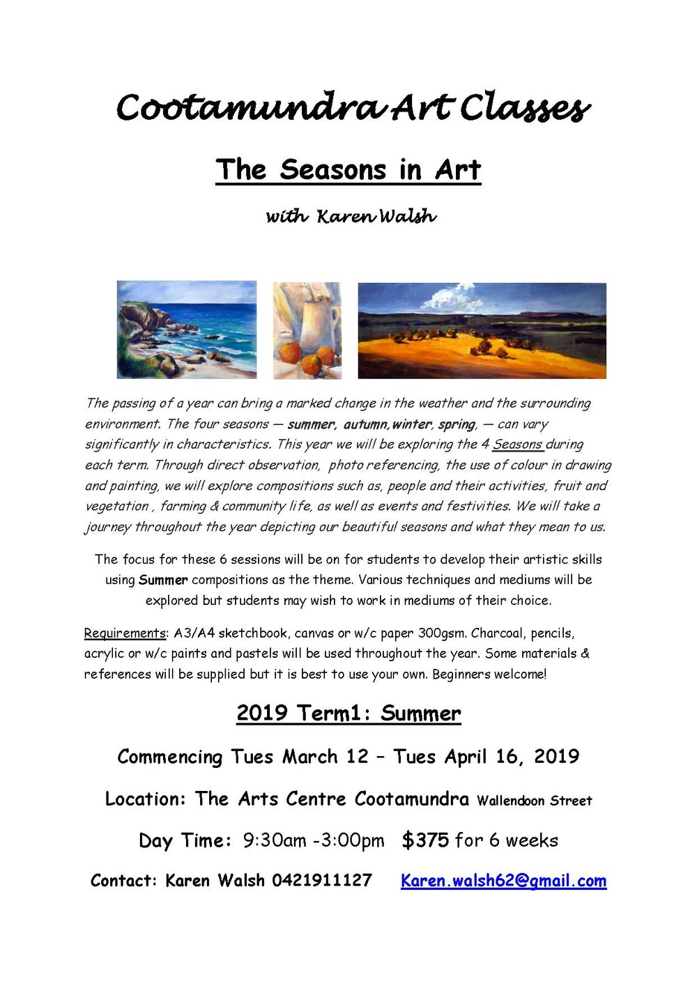 Art Experience  flyer Cootamundra Term 1 2019.jpg