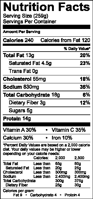 tomato pie nutritional .png
