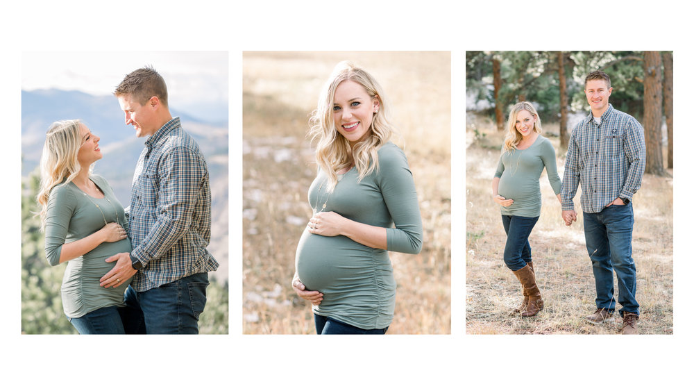 Colorado Maternity Photographer Michele with one L Photography