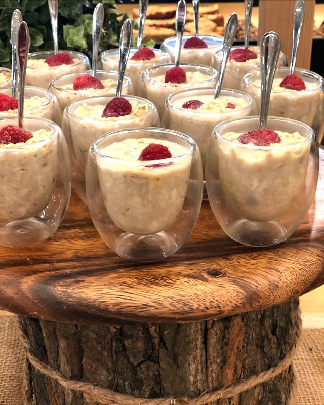 This morning it's about Coconut Raspberry Overnight Oat Cups, perfect for a quick breakfast or coffee break snack. Get in touch now to find out more about our corporate menu offerings. Drop us an email info@blastcatering.com . . . . . . . . .#catering #uaefood #gatheringslikethese #feedyourhappy  #dubaifood #inspiremyinstagram #foodsforthought #momentslikethese #tastingtable  #eattheworld #foods4thought  #scrumptiouskitchen #heresmyfood  #foodstyling #dubaicatering #mydubai #dubaifood #lovindubai #corporatecatering #canapes #breakfast