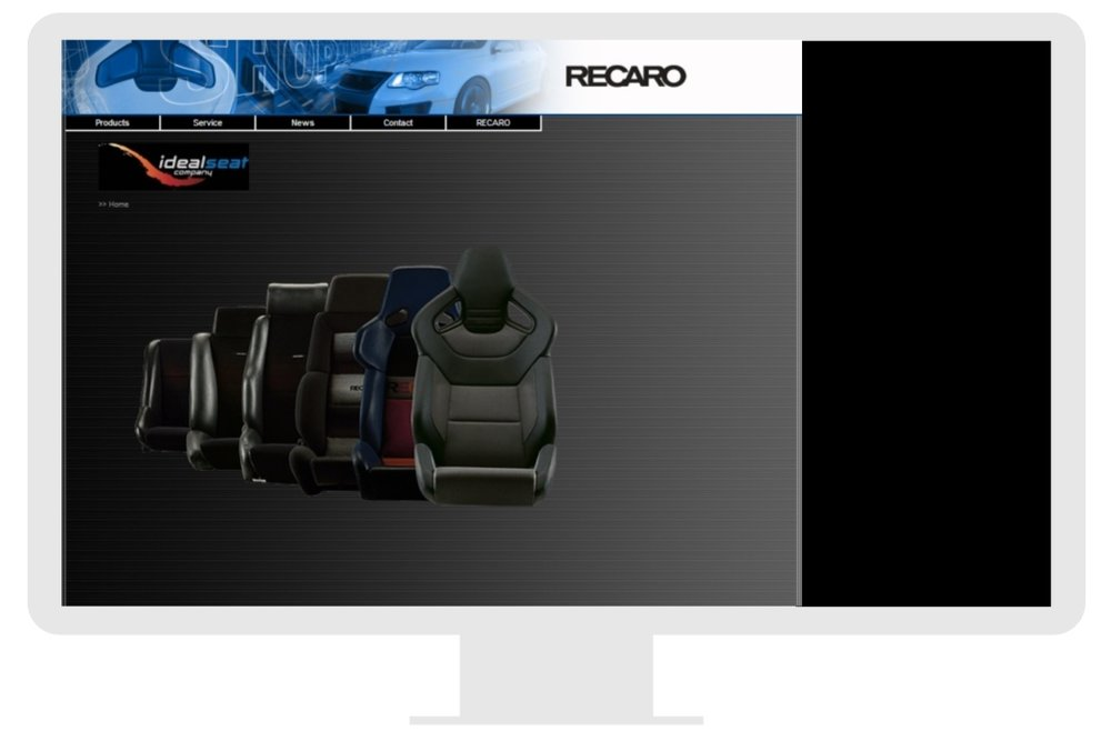 Recaro Australia - Ideal Seat — Webby Web Design