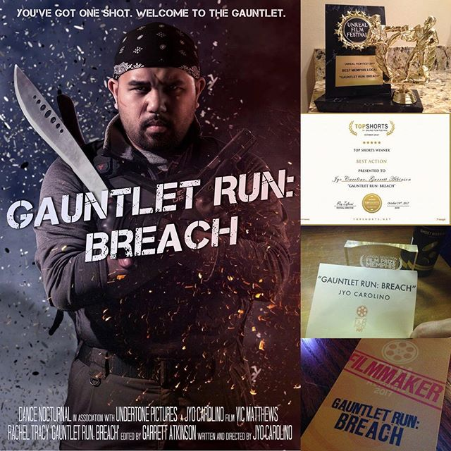 Oh, hai! Did you miss GAUNTLET RUN: Breach last year? That's ok, because now it's available on YouTube for your viewing pleasure! There's a link in the bio, but you can also check it out here:  https://youtu.be/bGK5Cqs76Qs  #welcometothegauntlet #filmfestival #goprohero5 #pov #action #actionmovie #indie #memphis #oneshot #fps #firstpersonshooter