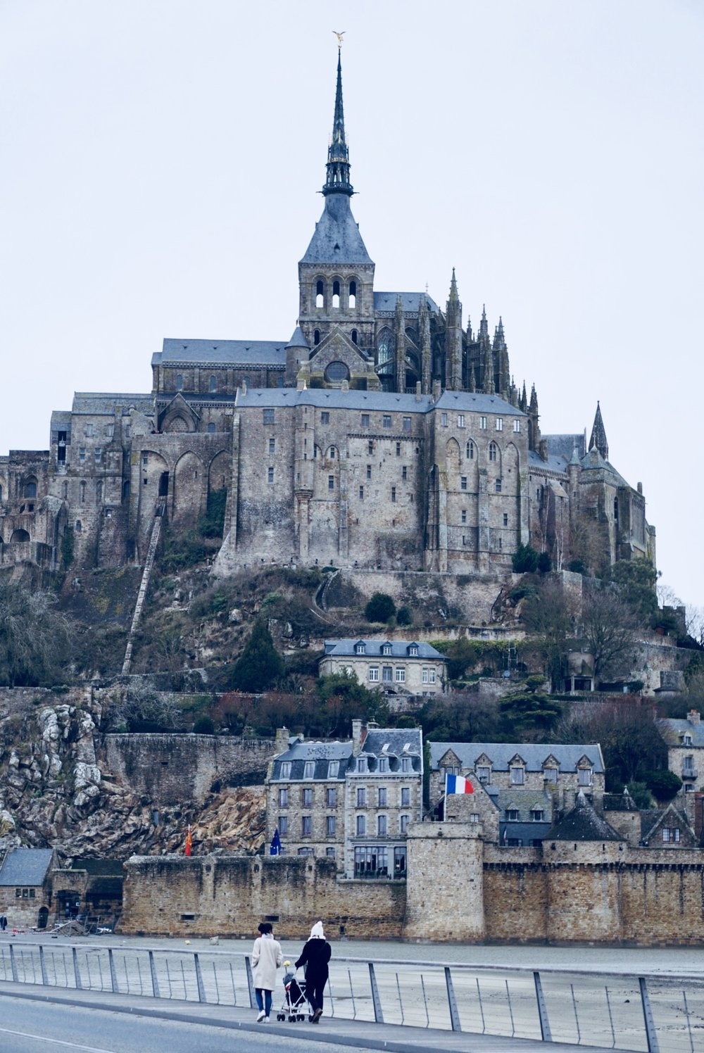 Mont Saint Michel with my loved ones