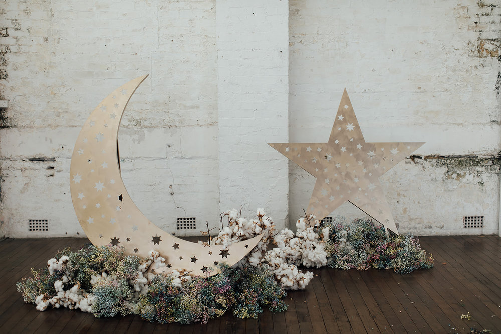 1 x star + 1 x moon structure - $300.00 each