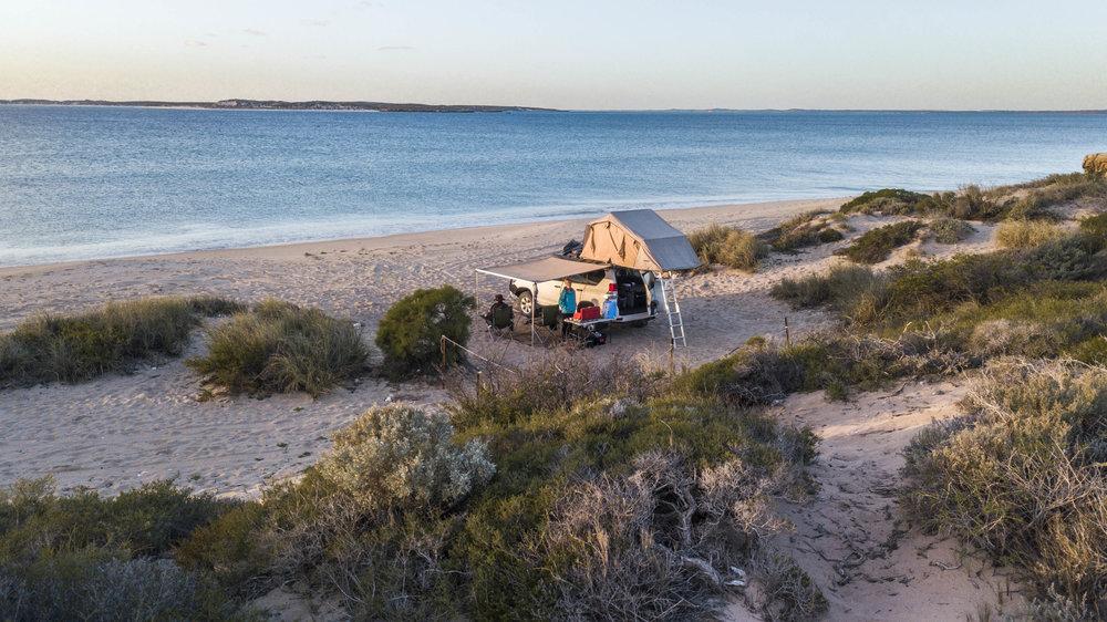 Campsite, Steep point