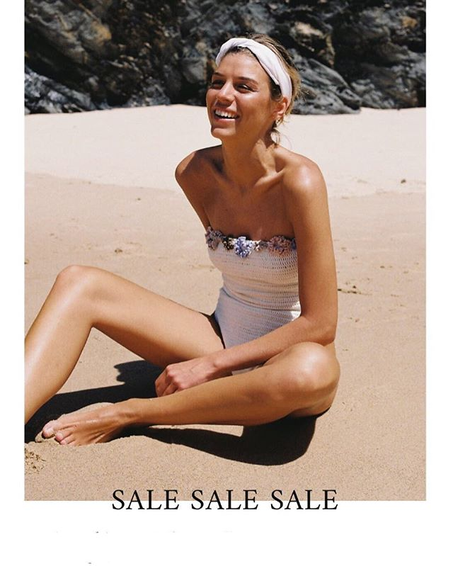 Last days to enjoy our sales, up to 50% off only at www.cruswimwear.com and at @casadopico #cruswimwear #naturalfibres