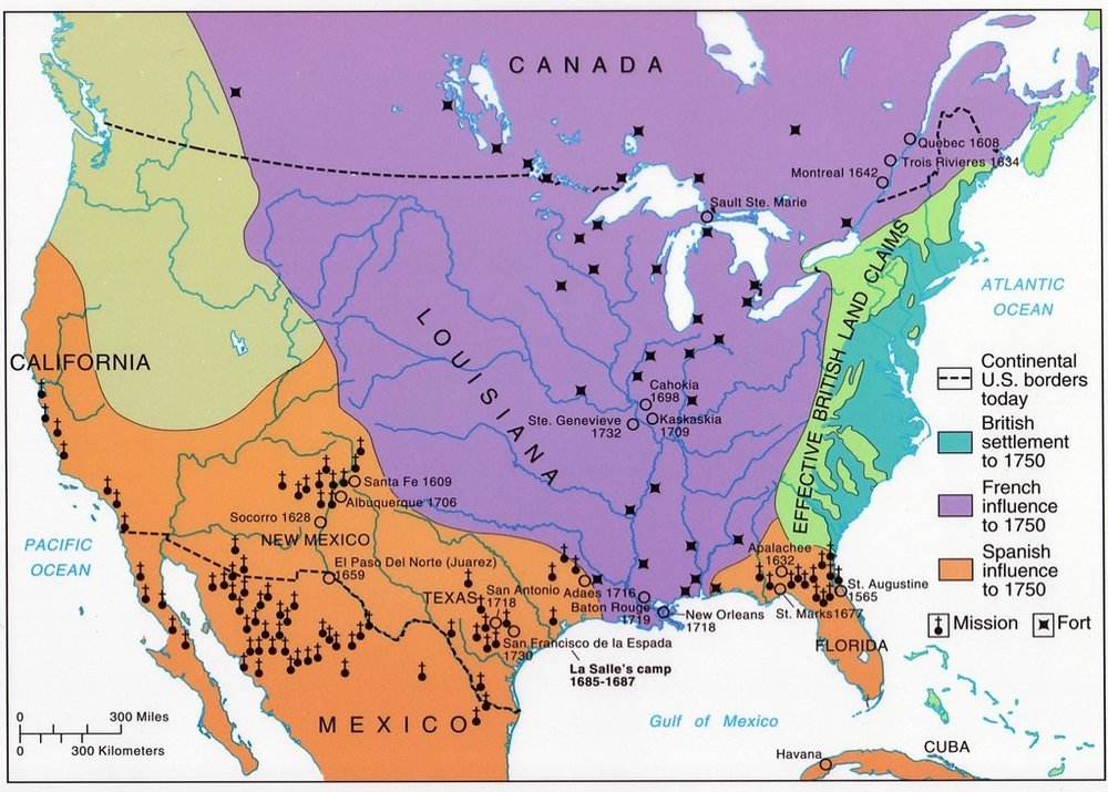 APUSH Unit III American Revolution And Early Republic  To - Us map 1763