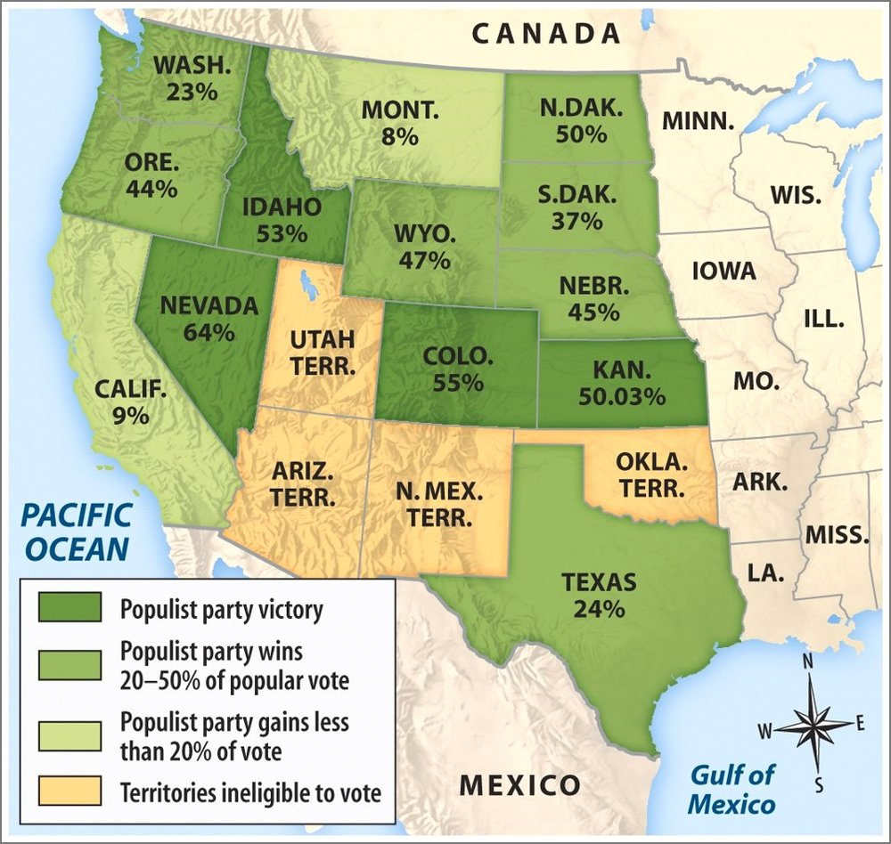 Ap Ush Unit Vi Us Industrial Revolution And Western Migration 1865 - Map-of-us-in-1865