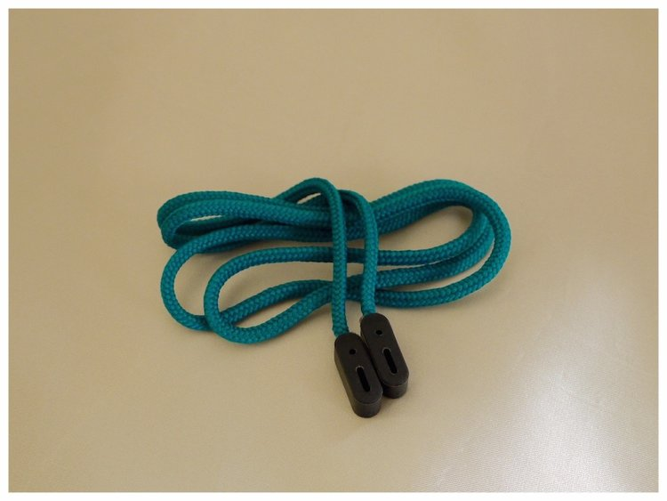 turquoise cord