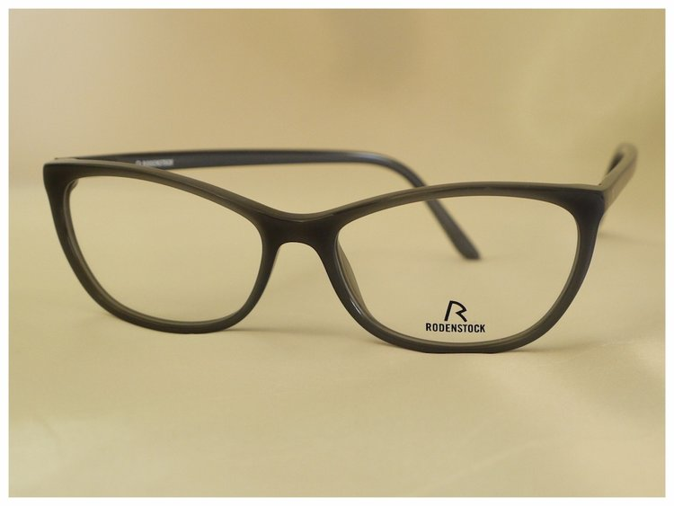 Rodenstock cat-eye shaped spectacles