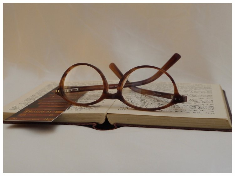a petite pair of reading glasses