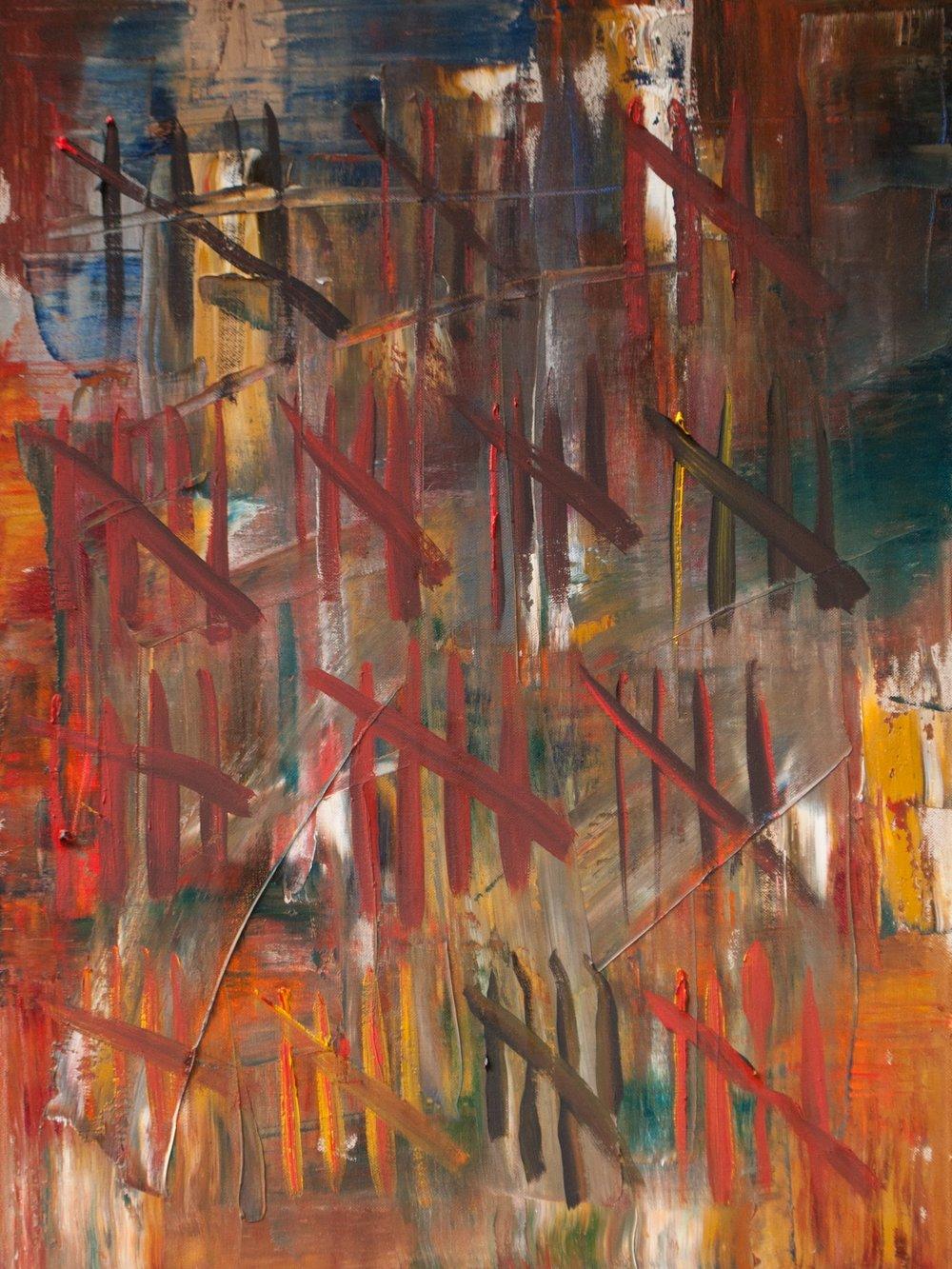Relentless, 24 x 18 Oil on Canvas, 2014