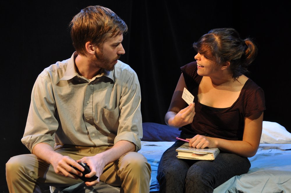 Jonathan Hopkins and Lauren LaRocca. Photo by Michelle Laird.