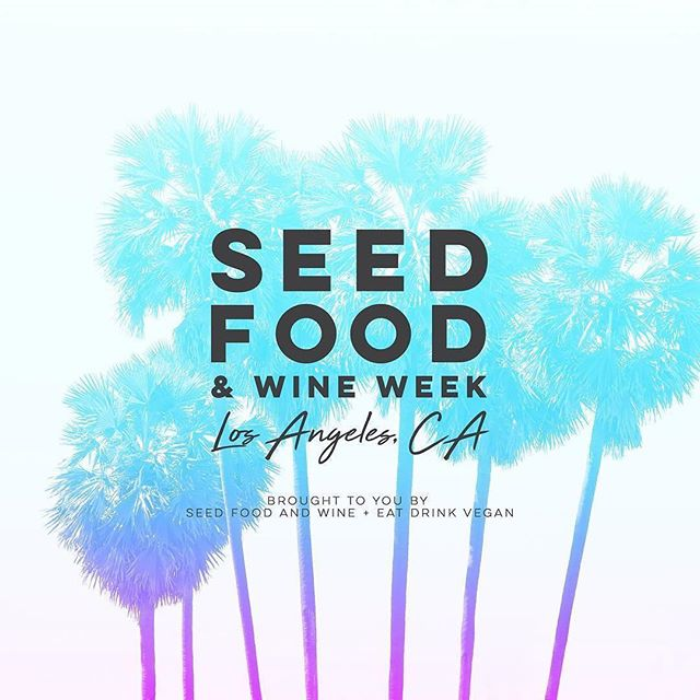 🌴EXCLUSIVE ANNOUNCEMENT🌴  The premiere Plant Based Food and Wine Festival in the country is coming to LA!  SEED FOOD AND WINE LA FEBRUARY 8-11, 2018  Seed Food and Wine, the nation's premiere plant-based food and wine festival has teamed up with us to bring you Seed Food and Wine Los Angeles. Seed celebrates plant-based foods, fine wine, craft beer and spirits, lifestyle products and companies while raising health awareness and having fun. Stay tuned for more details! 🌴#SFWLA #seedfw #plantbased
