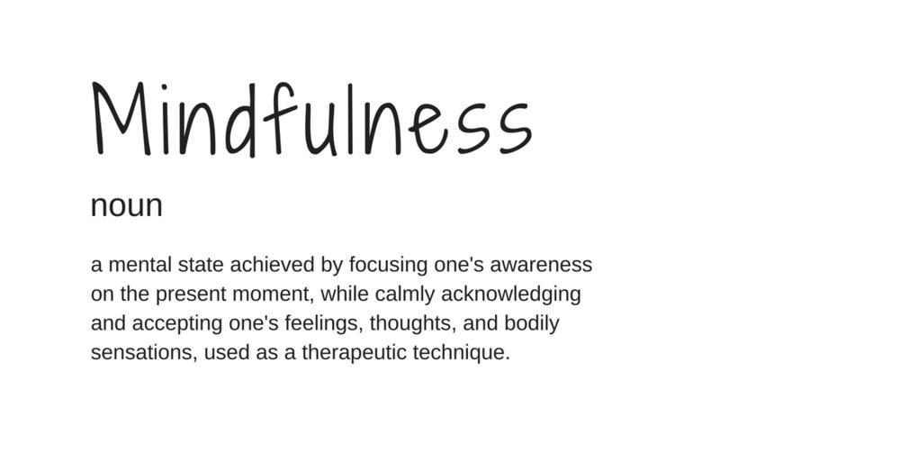 mindfulness-definition