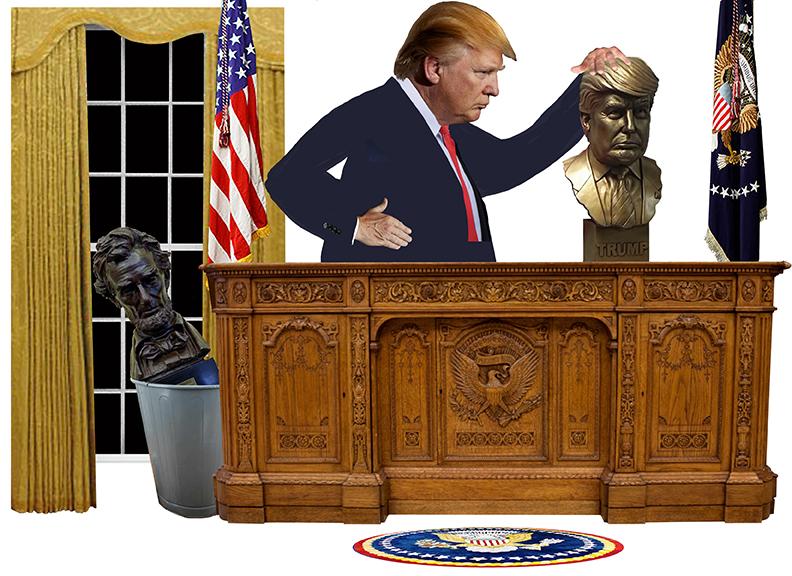 Trump Bust