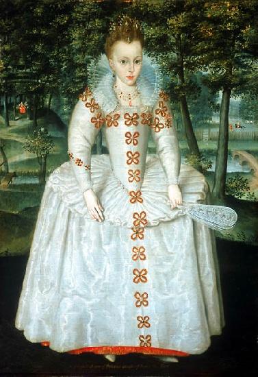 Elizabeth aged 7