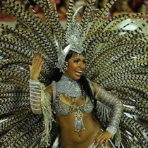 Admit it, this is what you expect from the Rio Carnival.