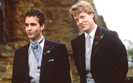 Darius Guppy (on the left) with Earl Spencer in better times.