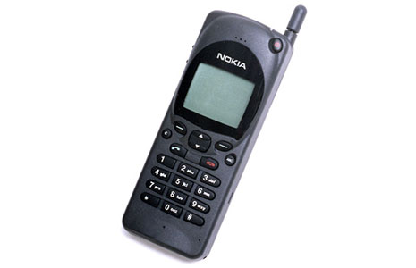 The Nokia 2110: available in 1994 for overpaid business users, and the first phone featuring THAT GODDAMN ANNOYING NOKIA RINGTONE