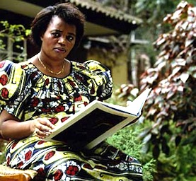 Agathe Uwilingiyimana, rightful President of Rwanda - until she was murdered on the first day of genocide.