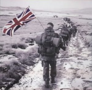 The same image you always see whenever anyone in the UK wants to to a piece on the Falklands War.