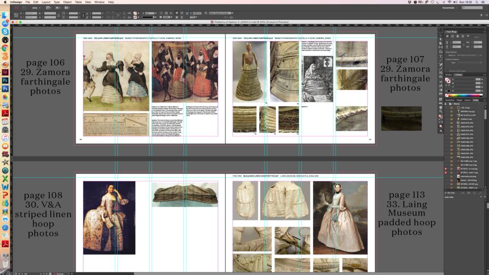 Patterns of Fashion 5 : work in progress