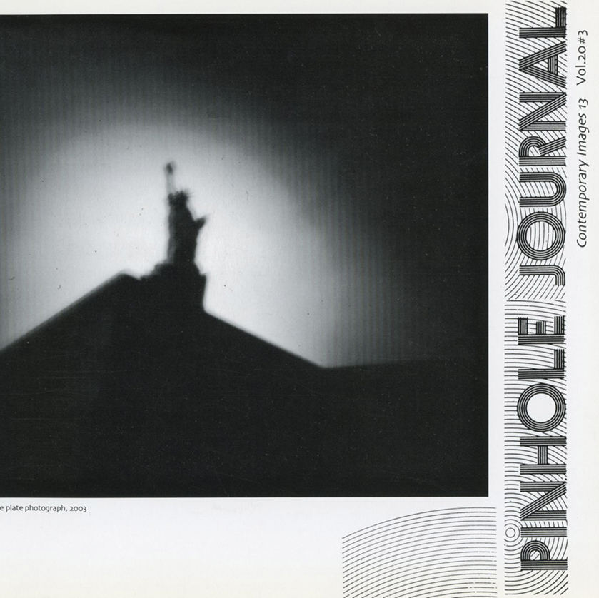 Essay and Images Published in Quarterly Journal   Pinhole Journal,  Contemporary Images 13, Vol 20 #3; December 2004 Portfolio of images and essay about the origins and defining experiences of the  Tears of Stone: World War I Remembered  project