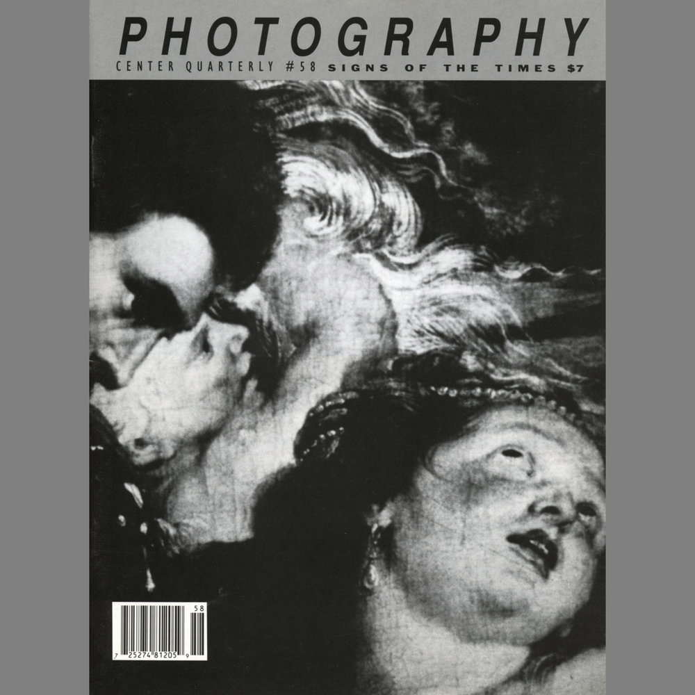 Images Published in Quarterly Magazine Photography Center Quarterly, The Center for Photography at Woodstock, #58, 1994 Images from the Birth & Death series, including an artist's statement